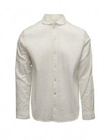 Kapital white plissé shirt online