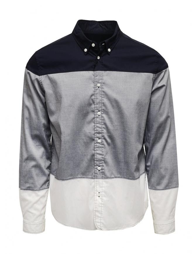 Camicia 08Sircus blu grigia bianca SAH04 GREY camicie uomo online shopping