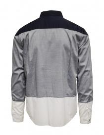 08Sircus blue grey white shirt