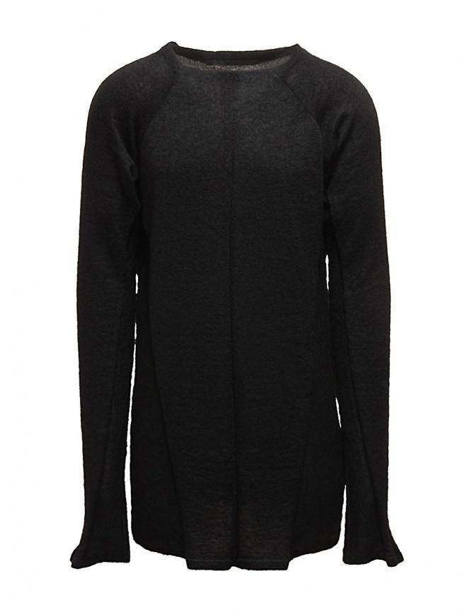 Julius oversize black pullover 17KNM2-BLK mens knitwear online shopping