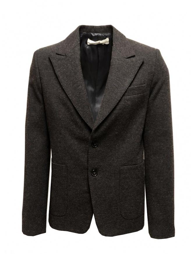 Double Herringbone Golden Goose Jacket G19U539.B1 BROWN mens suit jackets online shopping