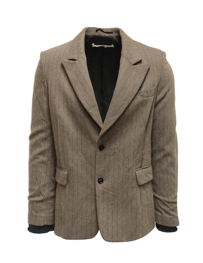 Giacca Golden Goose Bee gessata G27U519.A5 giacche uomo online shopping