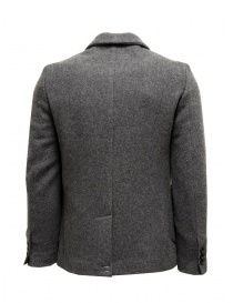 Grey Golden Goose Bill's suit jacket with scarf