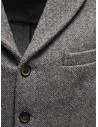 Grey Golden Goose Bill's suit jacket with scarf G23U531.A7 buy online