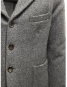 Grey Golden Goose Bill's suit jacket with scarf G23U531.A7 price