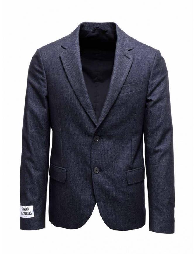 Golden Goose reversible blue jacket G26U539-A3 mens suit jackets online shopping
