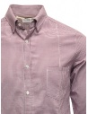 Golden Goose white and purple checked shirt G20U522.A7 price