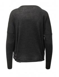 Ma ry ya grey sweater in merino wool, silk and cashmere