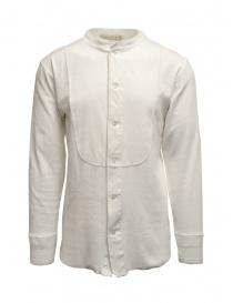 Haversack Mandarin collar white long-sleeved shirt online