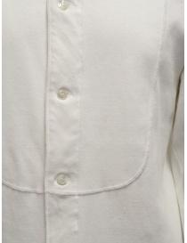 Haversack Mandarin collar white long-sleeved shirt price
