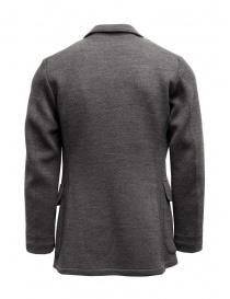 Giacca Haversack colore grigio texture diagonale