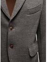 Giacca Haversack colore grigio texture diagonale 471524-04 prezzo