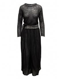 Hiromi Tsuyoshi black wool dress PU16-001 BLK order online