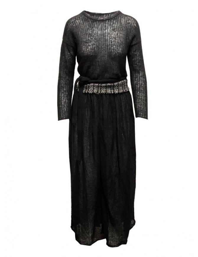 Abito nero in lana Hiromi Tsuyoshi PU16-001 BLK abiti donna online shopping