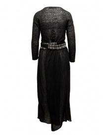 Hiromi Tsuyoshi black wool dress