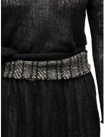 Abito nero in lana Hiromi Tsuyoshi prezzo
