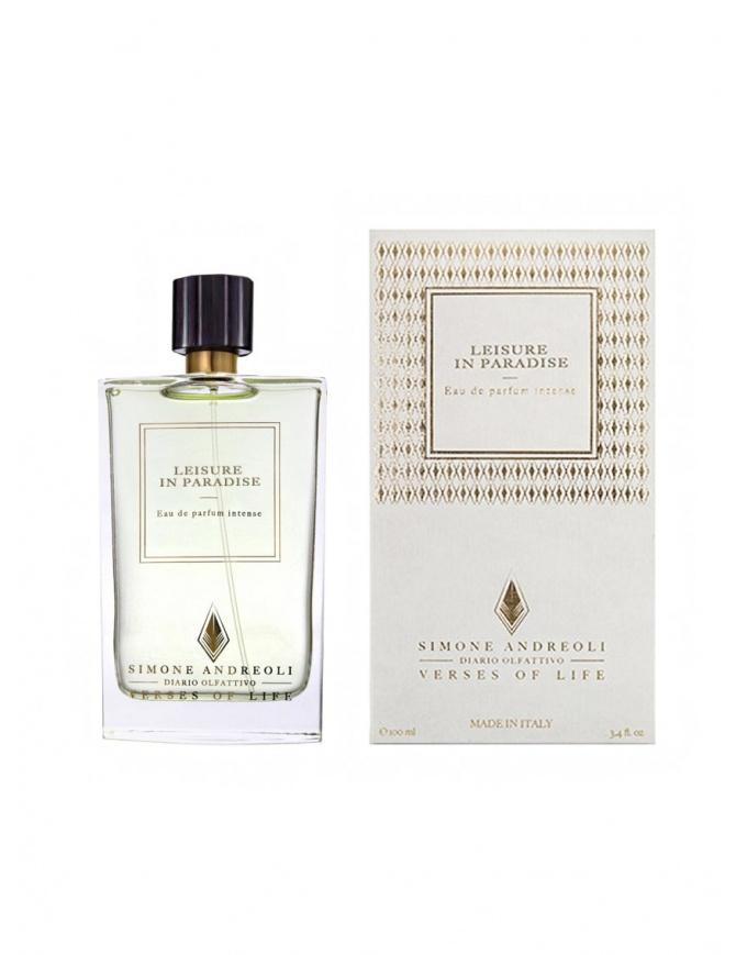 Simone Andreoli Leisure in Paradise perfume LEISURE IN PARADISE perfumes online shopping