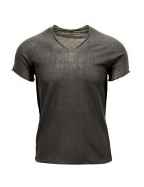Label Under Construction Arched Side Panel black t-shirt online