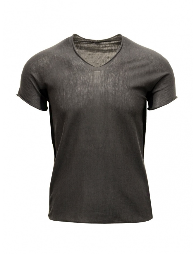 T-shirt Label Under Construction Arched Side Panel nera 21YMTS197 CO133 RG 21/898 t shirt uomo online shopping