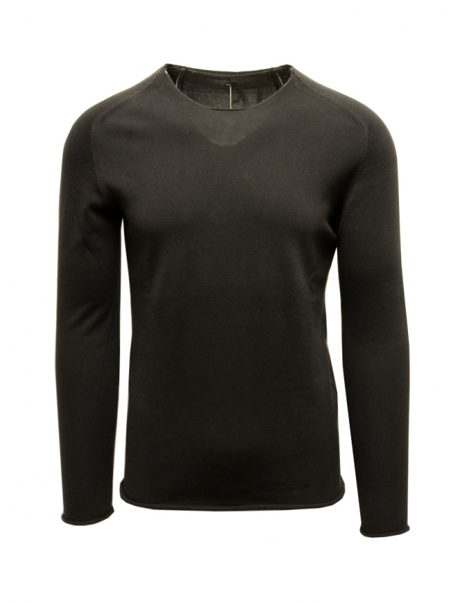 Label Under Construction Perspective Punched pullover 25YMSW75 CO131 25/8 mens knitwear online shopping