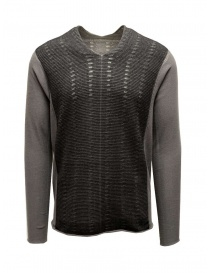 Parallel seams laddered Label Under Construction sweater online