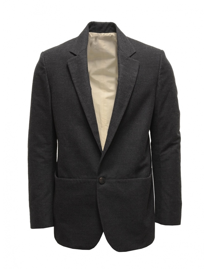 Giacca Label Under Construction colore grigio scuro 20FMJC48 WC40B 20/96 giacche uomo online shopping