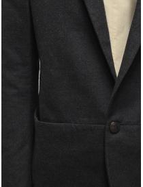 Giacca Label Under Construction colore grigio scuro prezzo