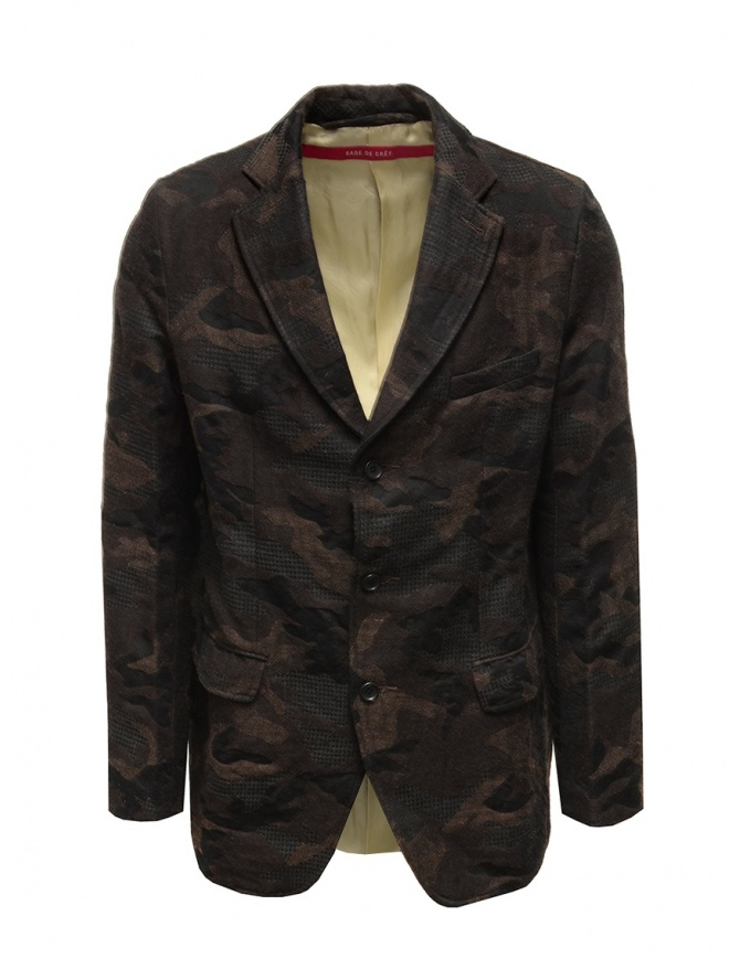 Giacca camouflage Sage de Cret 3160 3965 60 BROWN giacche uomo online shopping