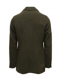 Giacca Sage de Cret nera verde scura in lana acquista online