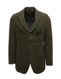Sage de Cret black dark green wool jacket online
