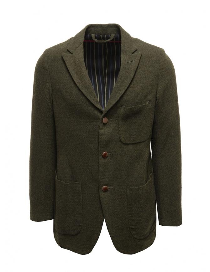Giacca Sage de Cret nera verde scura in lana 31-50-3924 44 giacche uomo online shopping
