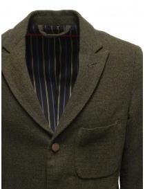 Giacca Sage de Cret nera verde scura in lana prezzo