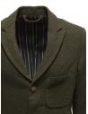 Giacca Sage de Cret nera verde scura in lana 31-50-3924 44 prezzo