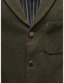 Giacca Sage de Cret nera verde scura in lana giacche uomo acquista online