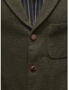 Giacca Sage de Cret nera verde scura in lana 31-50-3924 44 acquista online