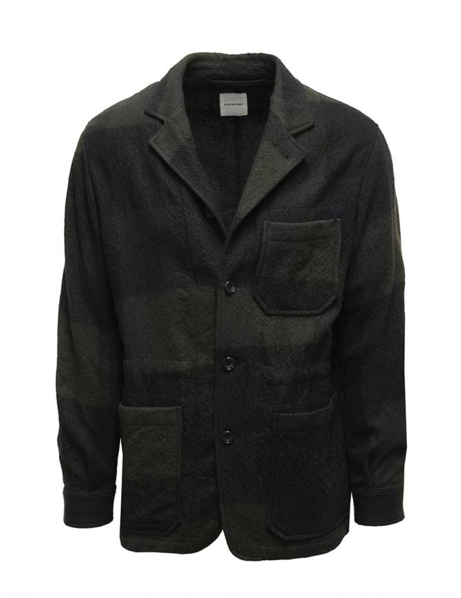 Giacca Sage de Cret a quadri blu e verdi 31-80-3063 giacche uomo online shopping