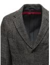 Giacca Sage de Cret in lana a quadri blu grigi 31-50-3922 50 prezzo