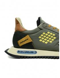BePositive Space Run military green sneakers mens shoes buy online