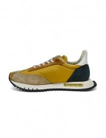 BePositive Space Run mustard yellow sneakers