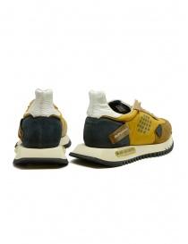 BePositive Space Run mustard yellow sneakers price