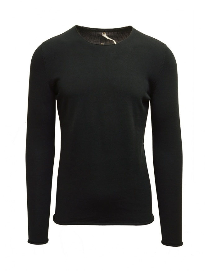 Maglia Label Under Construction Primary Sweater nera 23YMTS23CO131 23/DP-GR maglieria uomo online shopping