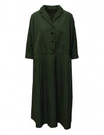 Casey Casey T Plee 2 pleated khaki dress online