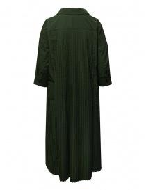 Casey Casey T Plee 2 pleated khaki dress