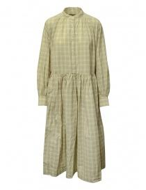Casey Casey Yuki Dress Natch abito lungo a quadri online