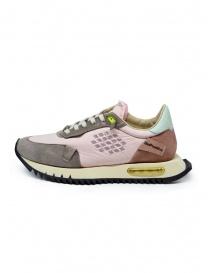 BePositive Space Run pink sneakers