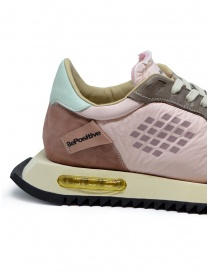 BePositive Space Run pink sneakers womens shoes buy online