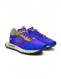 BePositive Space Run purple sneakers online