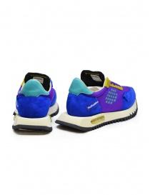 BePositive Space Run purple sneakers price