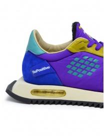 BePositive Space Run purple sneakers womens shoes buy online