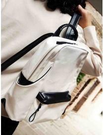 Cornelian Taurus zaino bianco e nero acquista online prezzo